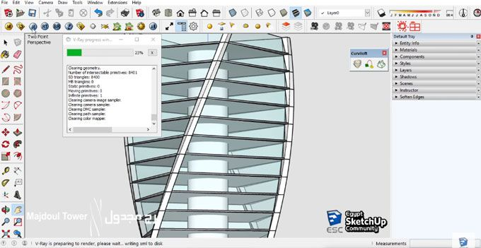 Egypt Sketchup Community Presents A Sketchup Tutorial Video That