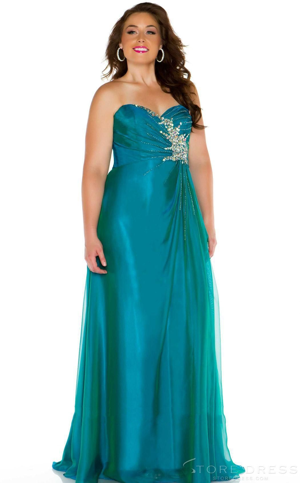 Dishy diva formal with dazzle Homcoming Plus Size Dress at ...