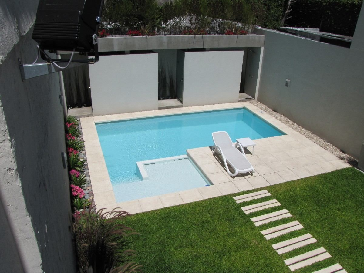 Construccion piletas 7x3 5 en hormigon h21 aguada for Piscina 7x3