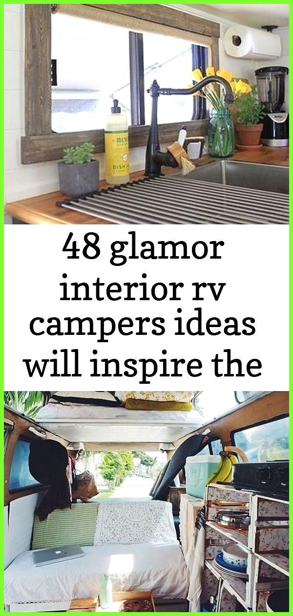 48 glamor interior rv campers ideas will inspire the best campers glamor ideas inspire interi 3 48