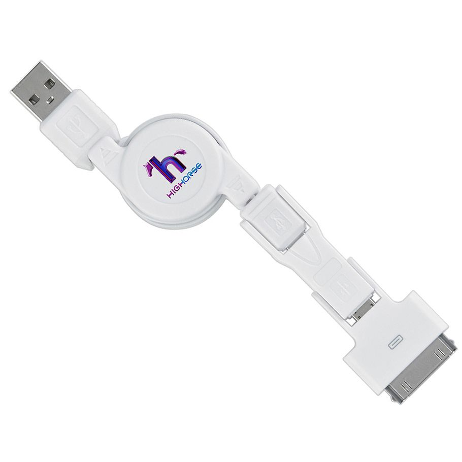 3 In 1 Iphone 4 Charging Cable Tsc Sku 20764 Save 30 While Quantities Last Regular Price Starts At 4 10 Corporate Gifts Corporate Awards Promotional Item