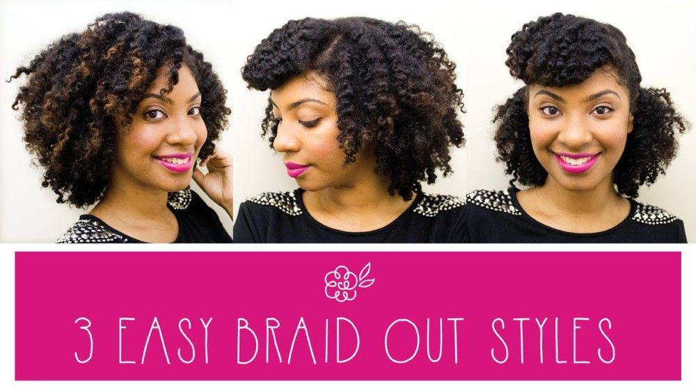 3 Styles For Braid Outs [Video] - http://community.blackhairinformation.com/video-gallery/natural-hair-videos/3-styles-braid-outs-video/