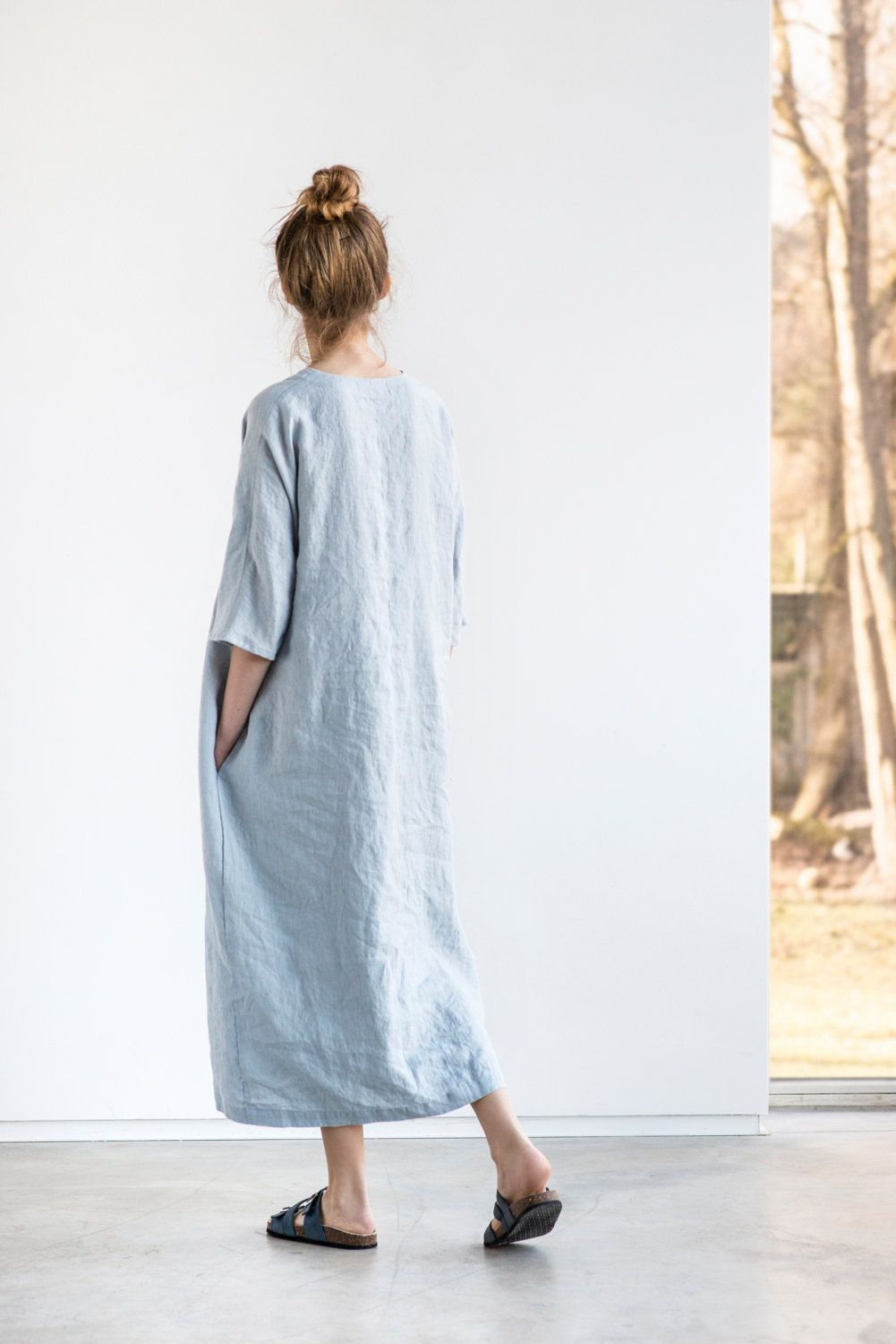 Jual Full Length Terry Cloth Robe For 3999 100 Cotton Update 2018 Floral Print Womenamp039s Bohemian Chiffon Long Maxi Floor Dress Washed Linen Kimono Tunic In Ice Blue Silver Grey Oversize