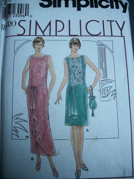 Twenties style dress patterns