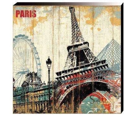 Parisian Sky Artwork