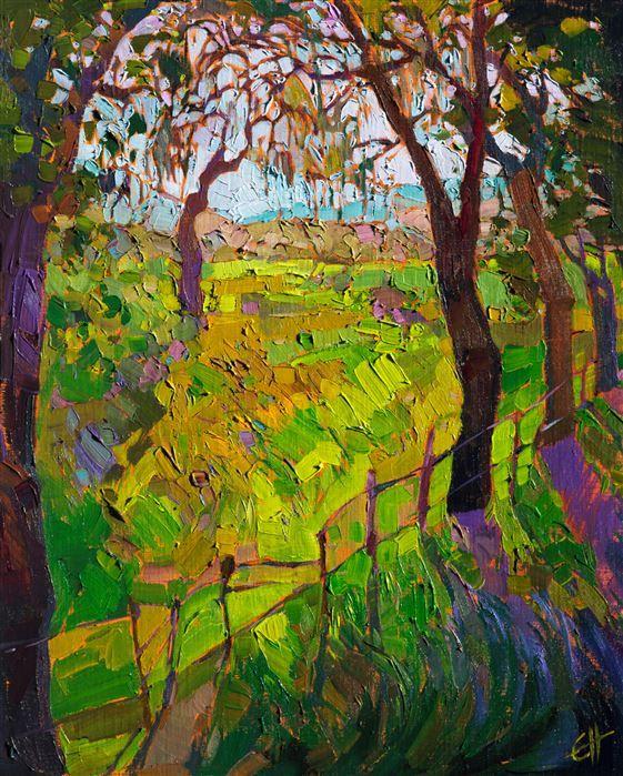 Spanish Moss Original Oil Painting By Impressionist Landscape Painter Erin Hanson Oil Painting Landscape Modern Impressionism Contemporary Impressionism