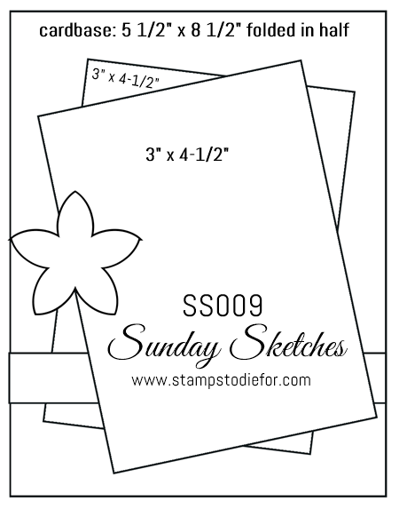 Sunday Sketches SS009 #cardsketches