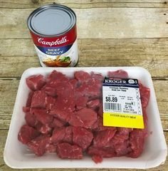 Photo of Crockpot Beef Tips & Gravy