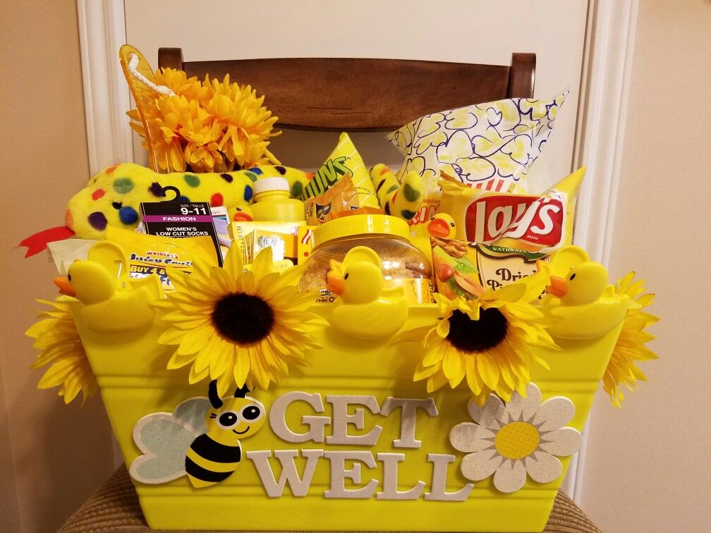 Get well gift basket. Dollar tree shopping for anything ...