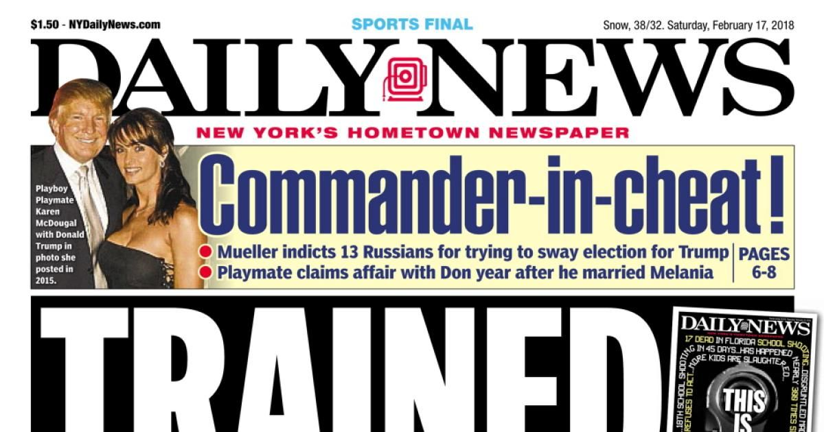 New york daily news front pages of 2018 httpwww