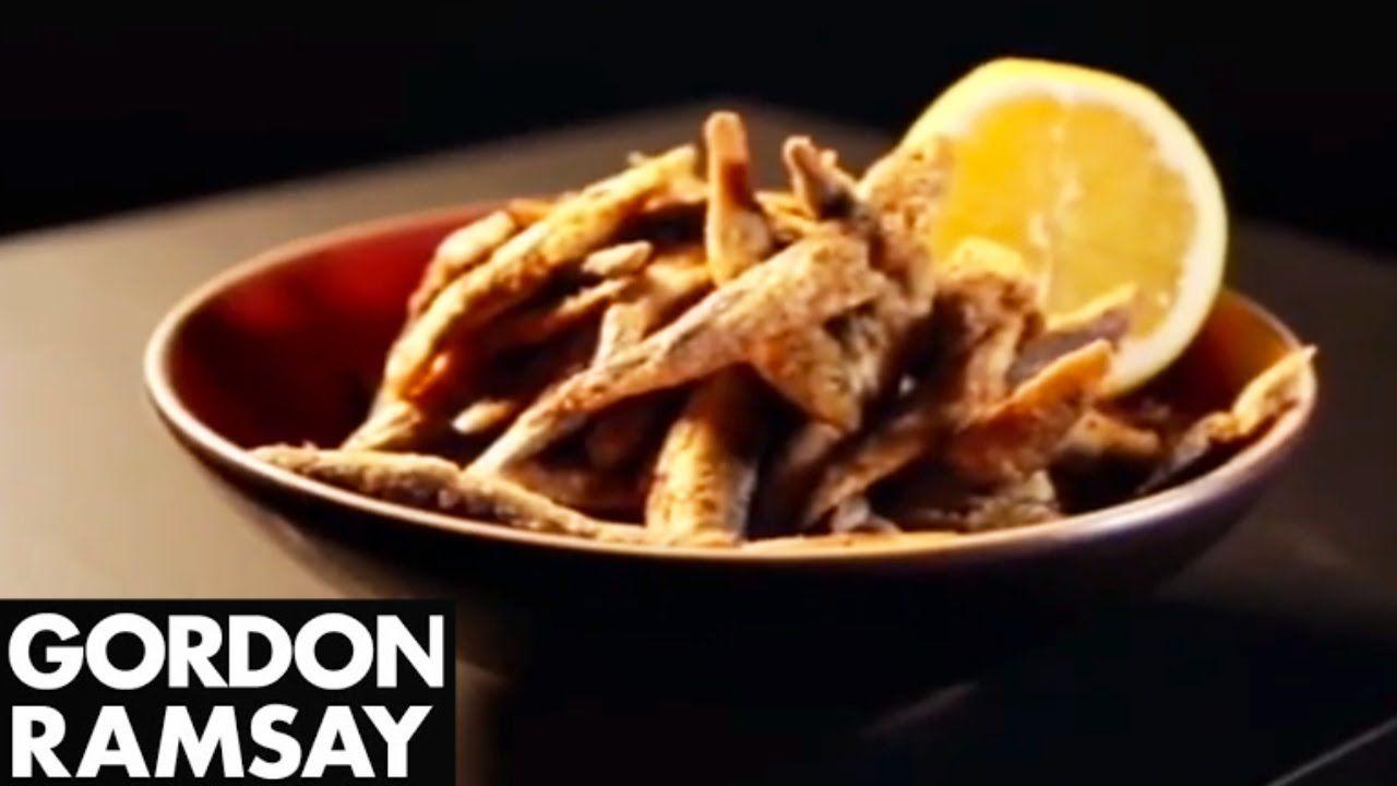 Chilli and Spice Whitebait - Gordon Ramsay | Seriously