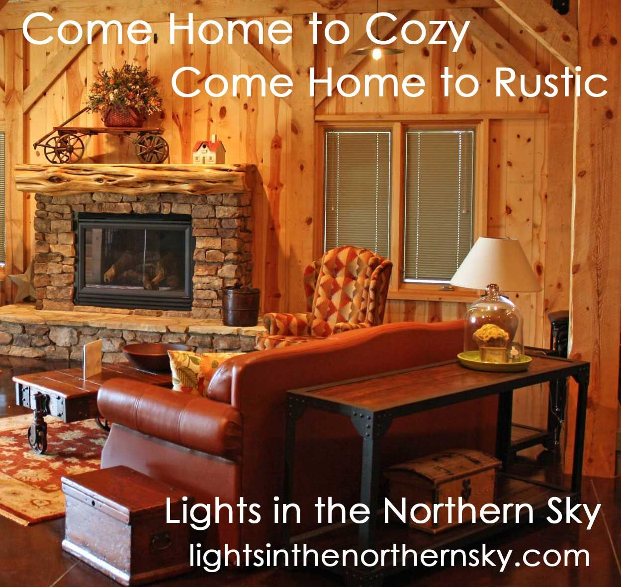 Beautiful Ways To Decorate A: Visit Lights In The Northern Sky For Beautiful Rustic