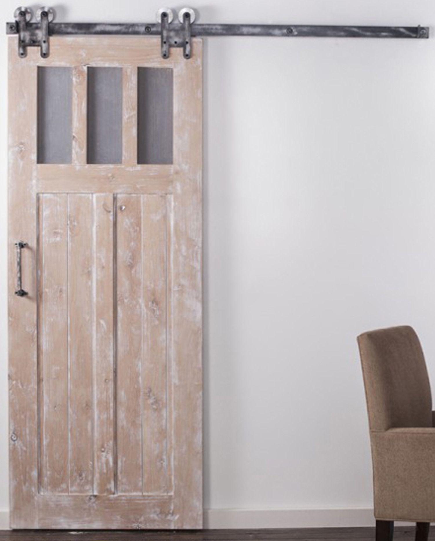 Interior Sliding Craftsman Barn Door Rustica Hardware Sliding Doors Interior Barn Doors Sliding Sliding Mirror Closet Doors