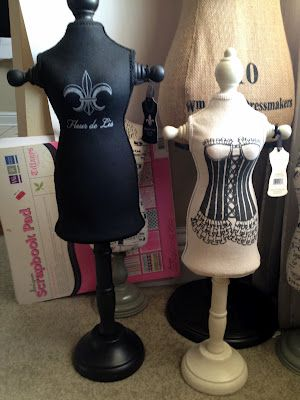 ❥ dress form, mannequins from TJ Maxx
