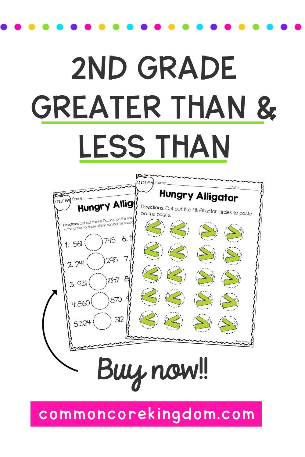 Greater Than Less Than Equal To 2nd Grade Common Core 2 Nbt A 4 2nd Grade Math 2nd Grade Vocabulary Cards [ 1500 x 1000 Pixel ]