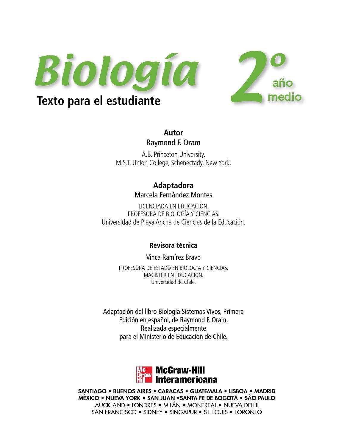 Biología 2º McGraw Hill 2008 | Pinterest | Enseñanza y Biología