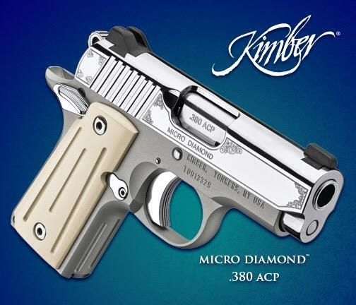 Kimbers Micro Diamond 380 Acp From The 2015 Summer Collection