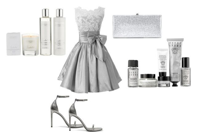 """""""special gift"""" by cyellaboran ❤ liked on Polyvore featuring Bobbi Brown Cosmetics, The White Company, Yves Saint Laurent and Jimmy Choo"""