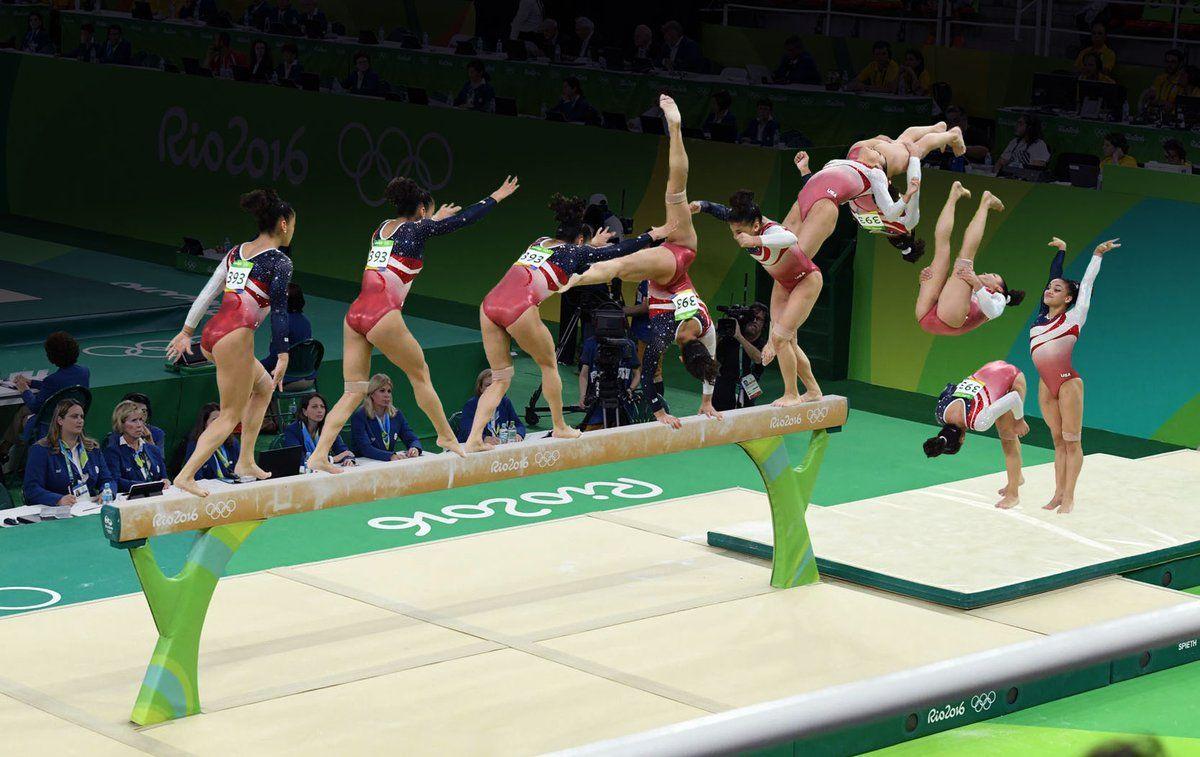(6) Twitter Olympics, Rio olympics, Gymnastics team