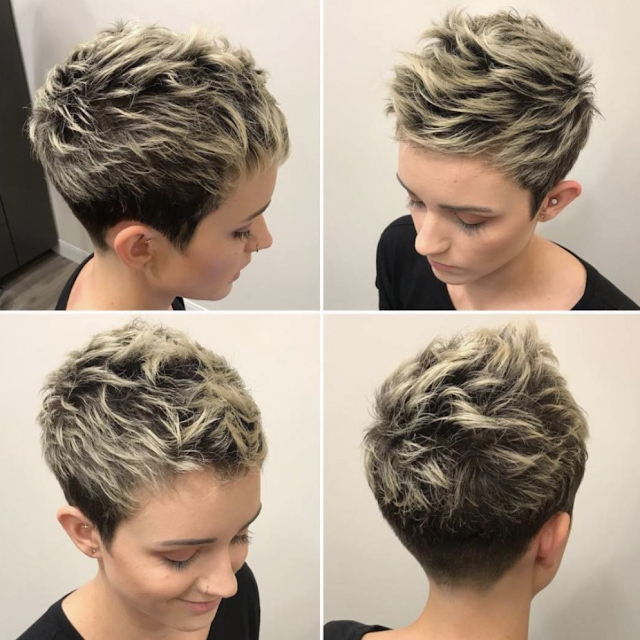 Short Hairstyles 2020 For Women Short Choppy Haircuts Choppy Haircuts Thick Hair Styles