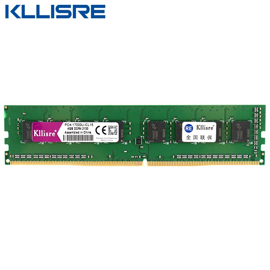 Kllisre Ddr4 Ram 8ギガバイト4ギガバイト2133 Mhzまたは2400 Mhz Dimmデスクトップメモリサポートマザーボードddr4 Ddr4 Ram Motherboard Memory Support