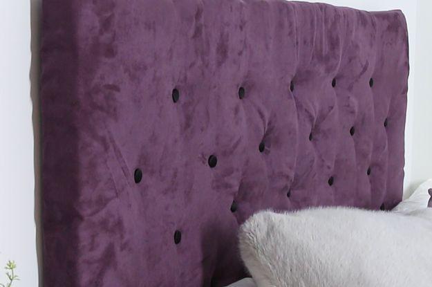 Photo of Dieses gepolsterte Kopfteil zum Selberbauen macht dein Bett
