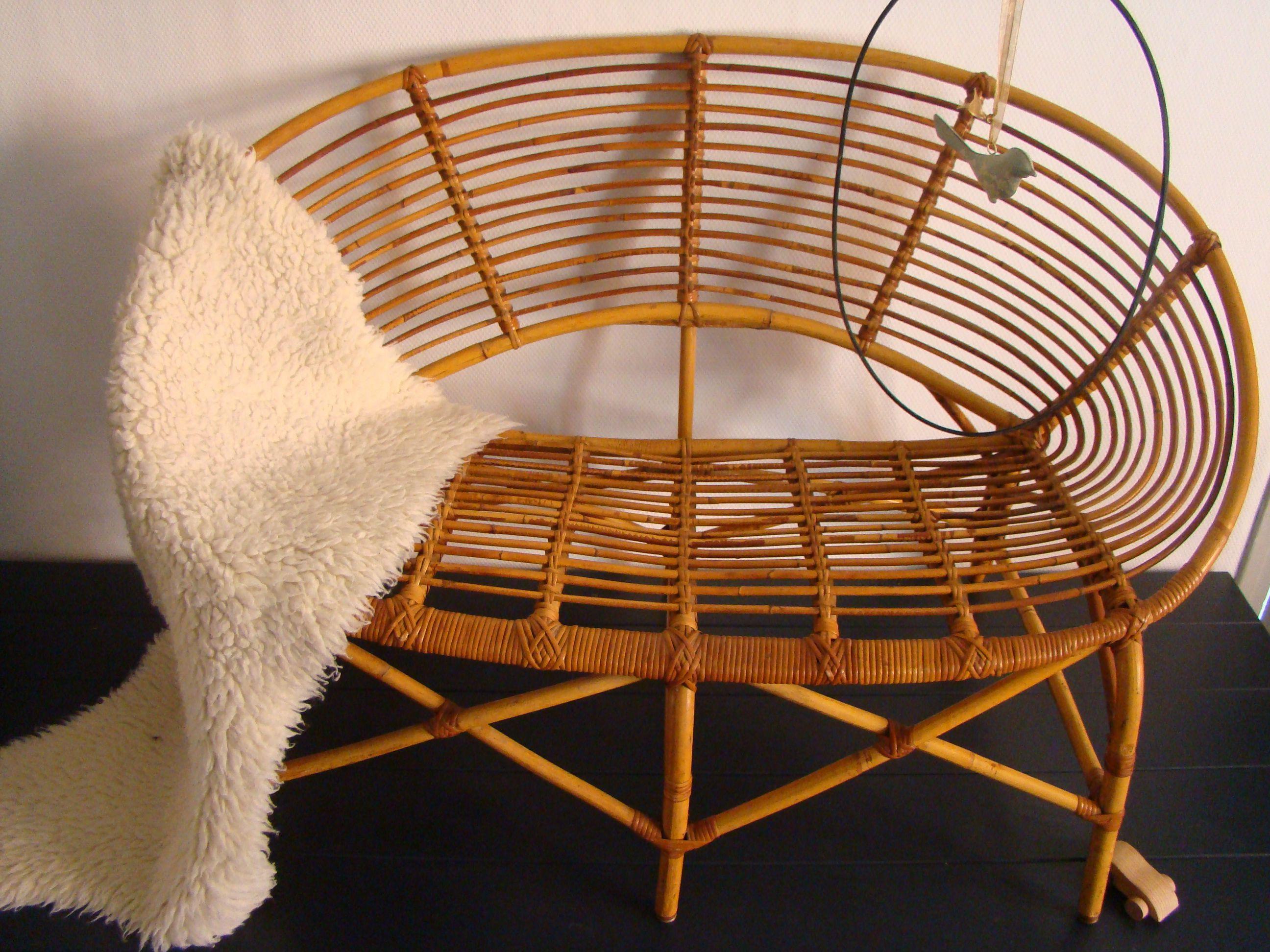 Rotin Vintage Room1164 Mobilier Meuble Design Decoration Meuble
