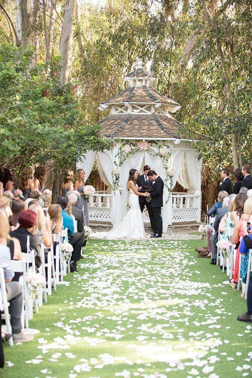 Twin Oaks House Garden Estate Gallery Gazebo Wedding
