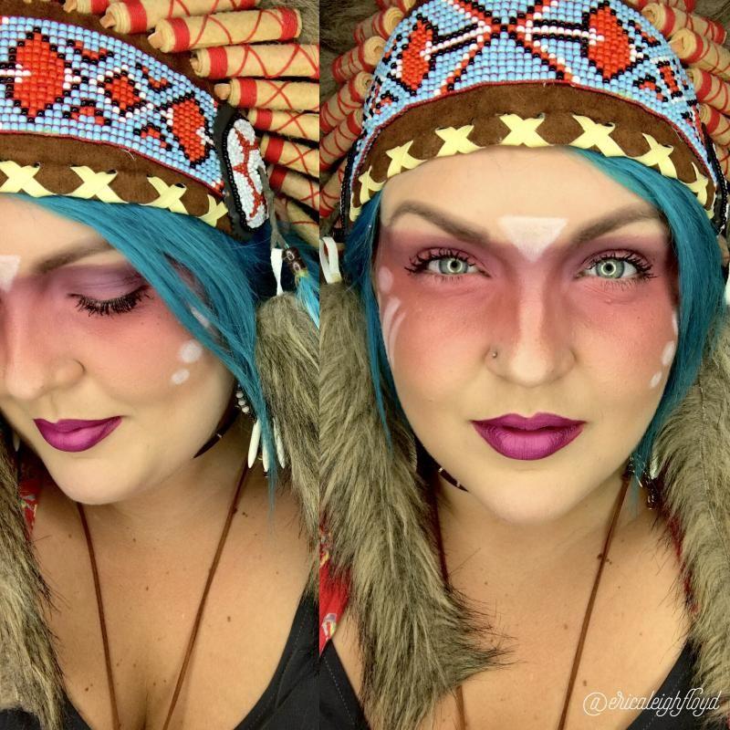 Halloween Pocahontas Makeup | Younique | Pinterest | Pocahontas ...