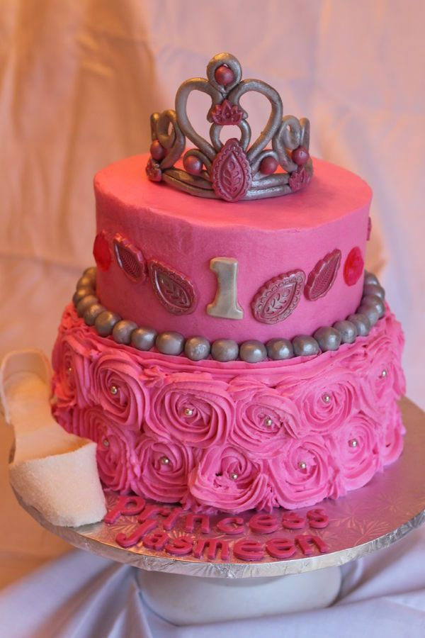 princess cakes Princess Cake ROSETTE CAKES Pinterest