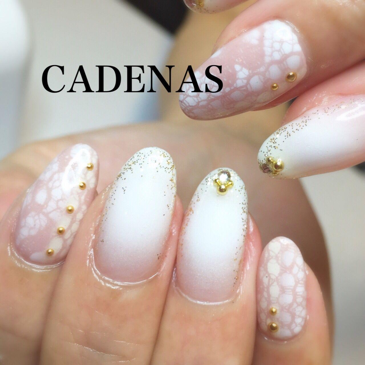 Cadenas nail design ♡ tel:06-4792-8617 blog❤ http://ameblo.jp ...