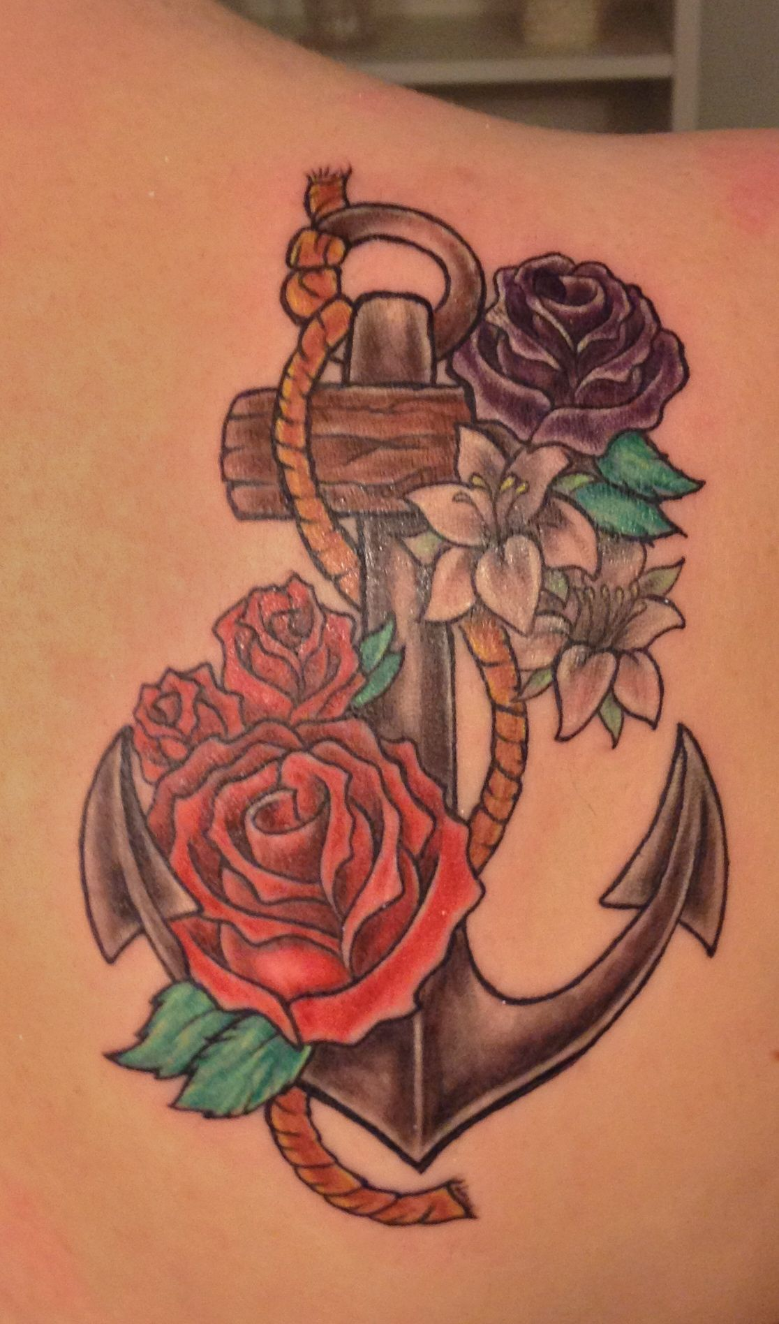 anchor pirate ocean tattoos pinterest