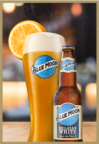 Belgian White Belgian Style Wheat Ale Blue Moon Beer Beer Blue Moon Belgian White