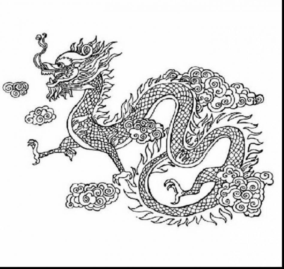 25 Awesome Image Of Coloring Pages Dragons Davemelillo Com Dragon Coloring Page New Year Coloring Pages Chinese New Year Dragon