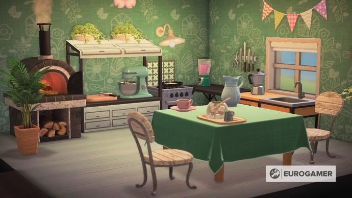 Animal Crossing Kitchen Furniture How To Design A Kitchen And Get The Ironwood Kitchenette In New Horizons Animal Crossing Kitchen Furniture Design Furniture
