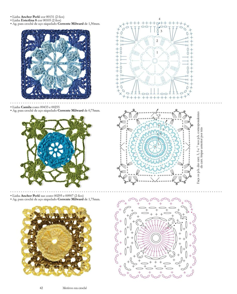 Pin von Priscylla Rebello auf Knitting | Pinterest | Quadratische ...