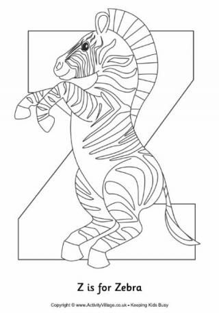 Weve Got A Growing Collection Of Zebra Colouring Pages Here To Print Out And Enjoy With The Kids
