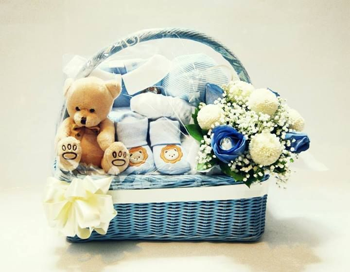 Baby gift basket flower arrangement in container 465k includes baby gift basket flower arrangement in container 465k includes baby socks jumper negle Choice Image