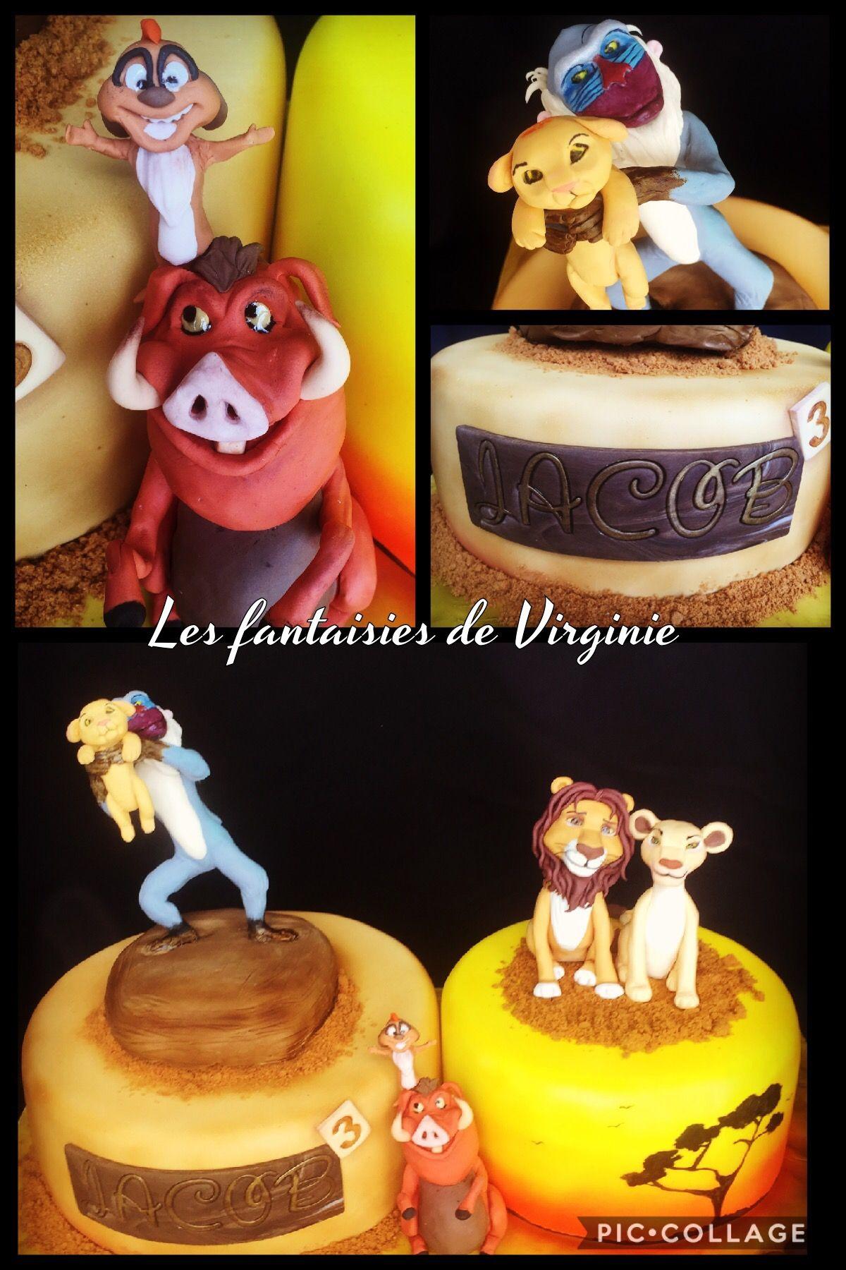 Gateau Roi Lion Cake Design Pinterest