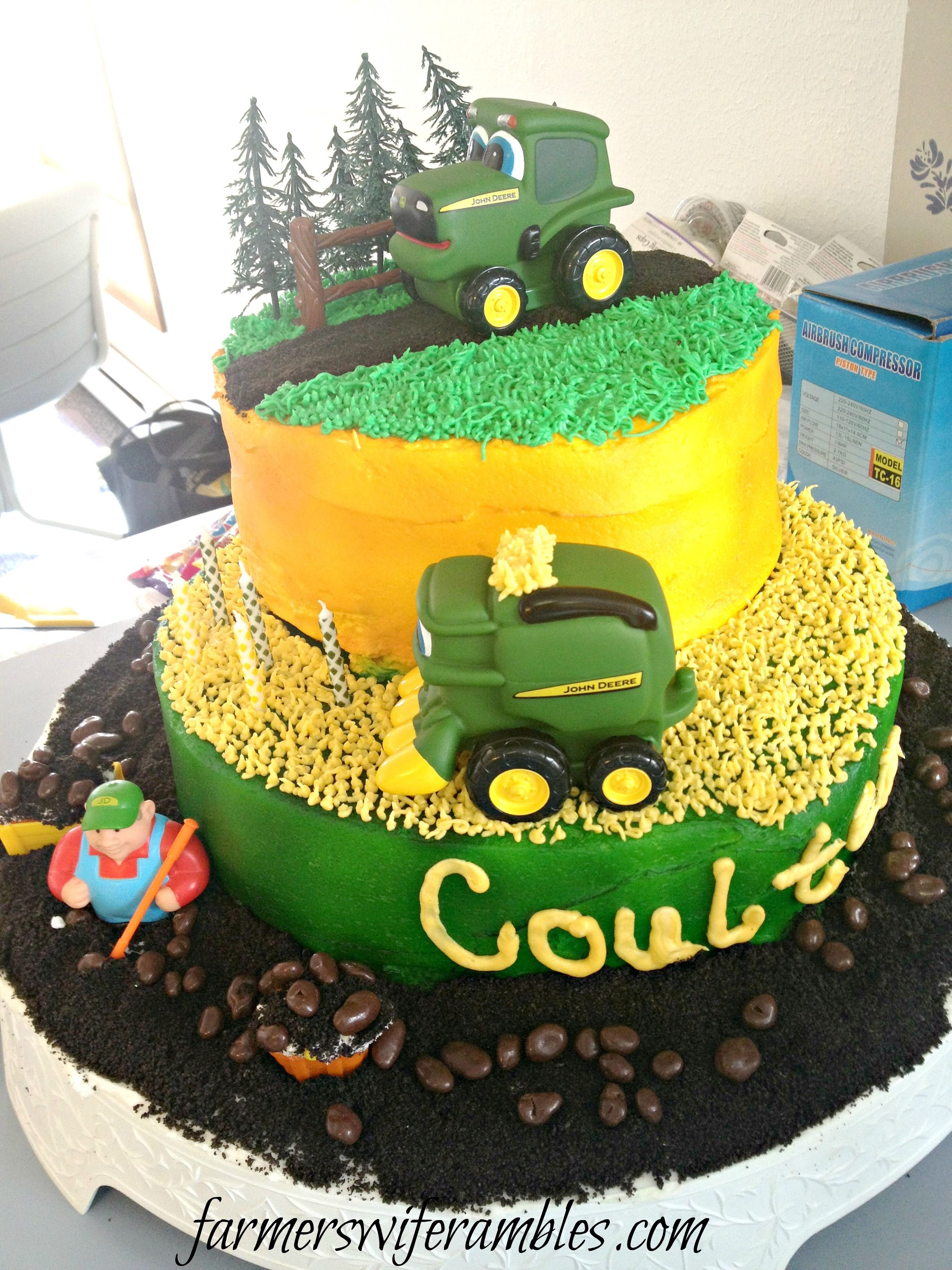 Phone Dump Friday John Deere Birthday Cake Farmers Wife