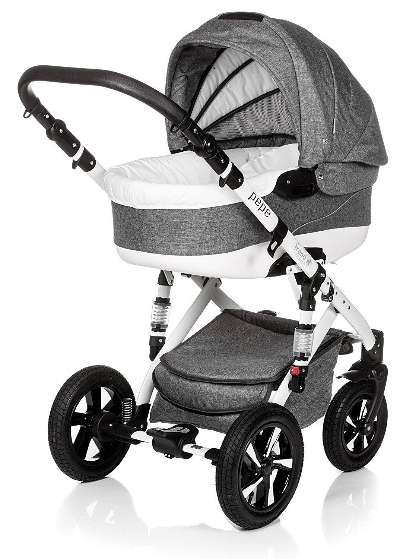 Baby Pram Pushchair Stroller Buggy, Travel System Trend Pepe 20lb ...