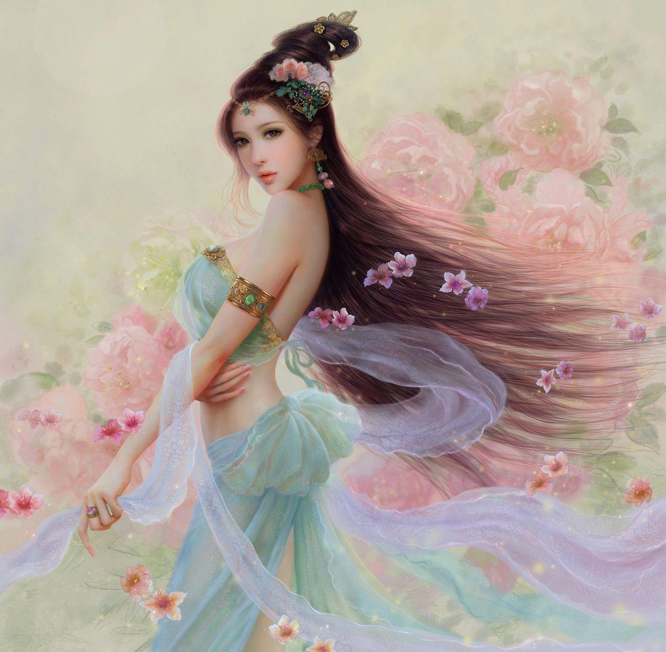 Asian girls fantasy most beautiful