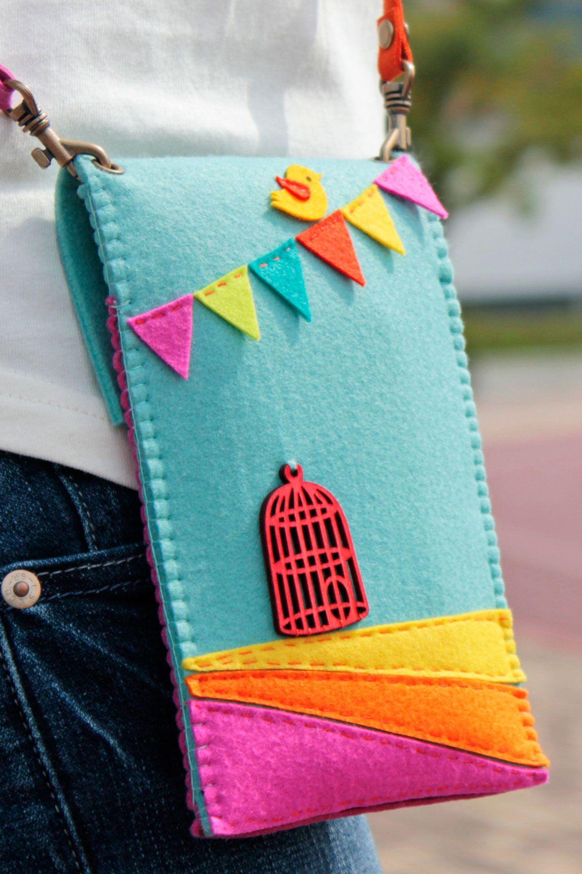 Felt bags designer Felt crafts diy, Felt bag, Felt purse