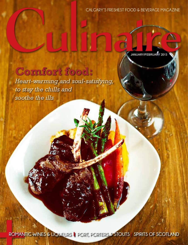 Culinaire 8 (January/February 2013) Food, Food drink