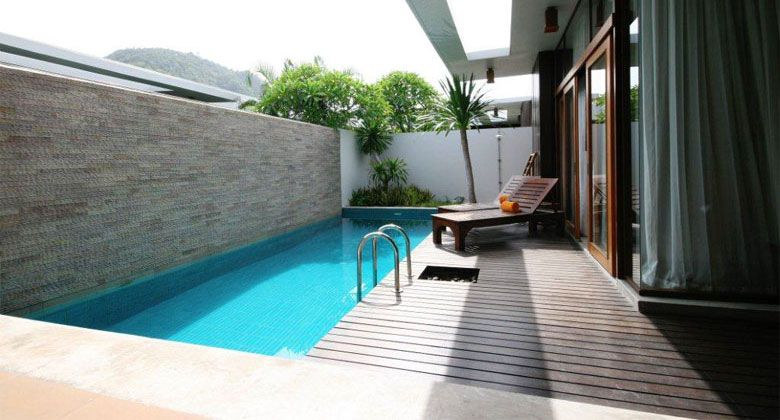 residential commercial wet edge tiled balinese lap pools ...