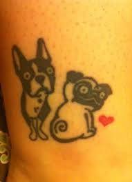 Znalezione obrazy dla zapytania dogs tattoos