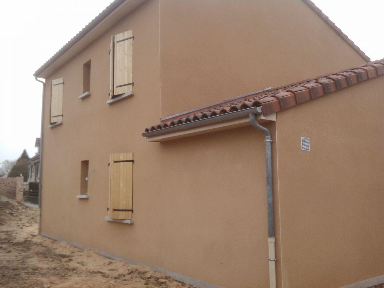 Couleur Extérieur Maison 2017 weber ocre rouge 049 | façade maison, maison, crepis facade