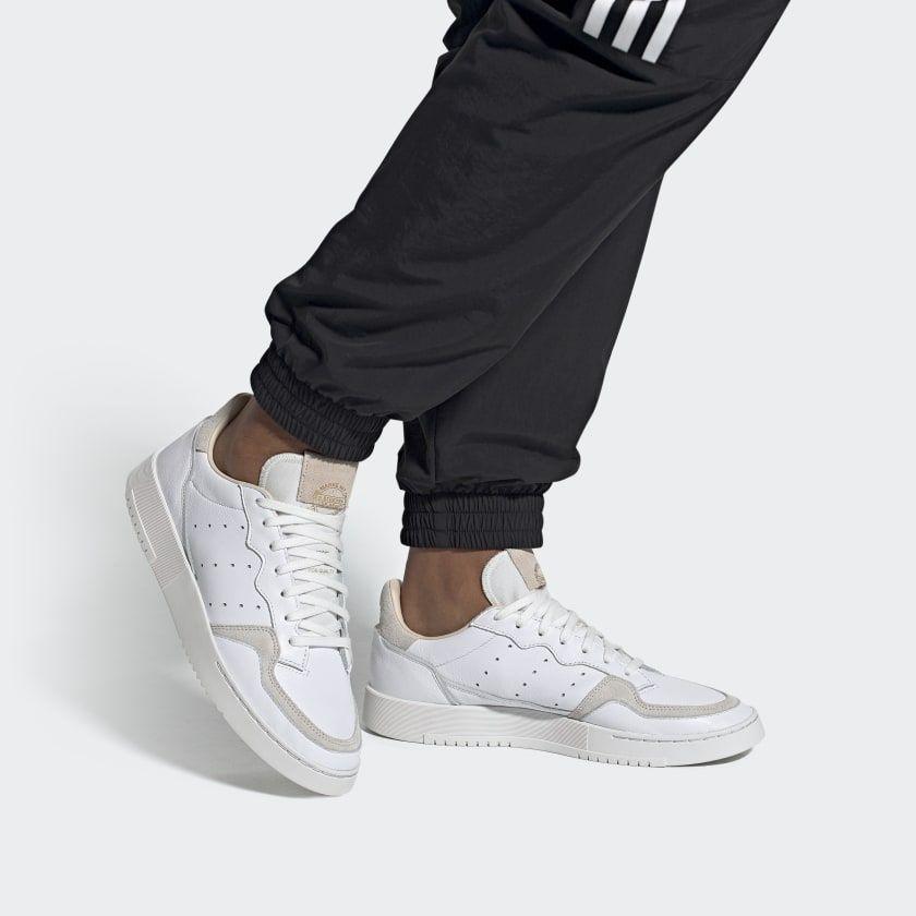 adidas Supercourt Shoes - White | adidas US in 2020 | White ...