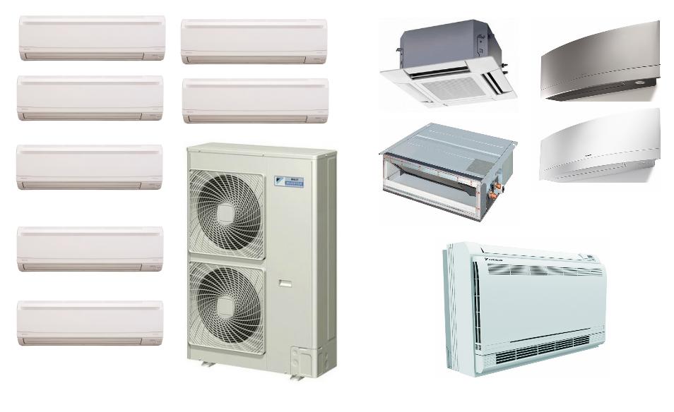 MultiZone in Heat pump air
