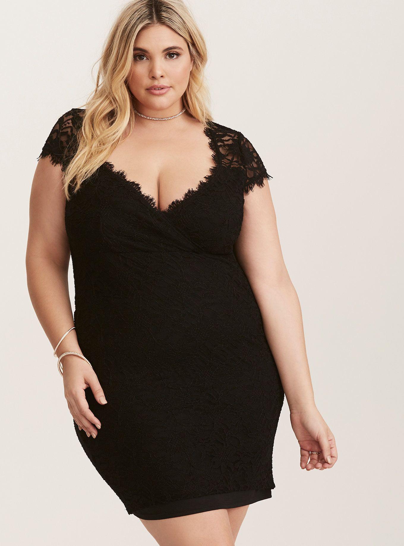 Plus Size Party Dress - Plus Size Cocktail Dress | fashion | Pinterest